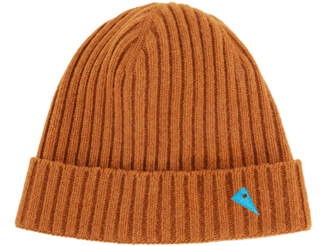 Klättermusen Barre Ribbed Cap Dark Honey